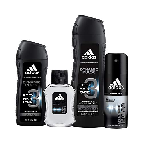 adidas Home & Gym Dynamic Pulse 4 Piece Gift Set