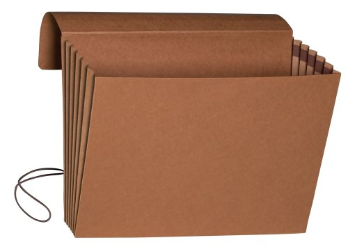 (Smead Expanding File Wallet with Flap and Cord Closure, 5-1/4