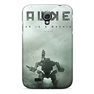 Pando Case Perfect Tpu Case For Galaxy S4/ Anti-scratch Protector Case (hawken War Is A Machine)