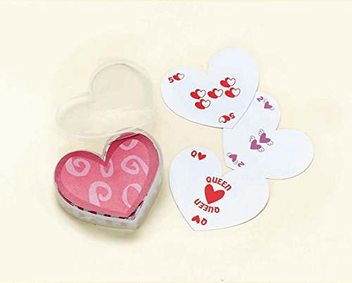 Heart-Shaped Playing Cards