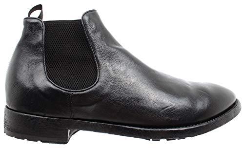 OFFICINE T Ignis Nero Uomo CREATIVE Black Boots 017 Scarpe Hand Italy Princeton rUr4OY