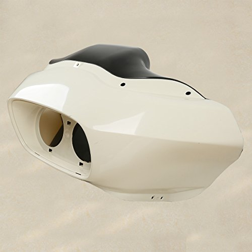 (XFMT Unpainted Inner & Outer Headlight Fairing Compatible with Harley FLTR Road Glide 1997-2013)