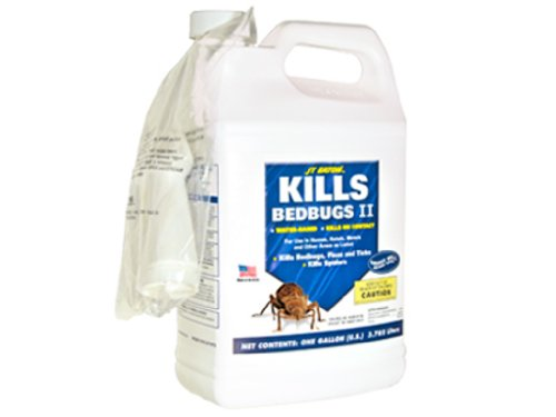 JT Eaton 207-W1G Kills Bedbugs II Water Based Bedbug Spray with Sprayer Attachment, 1-Gallon by J T Eaton