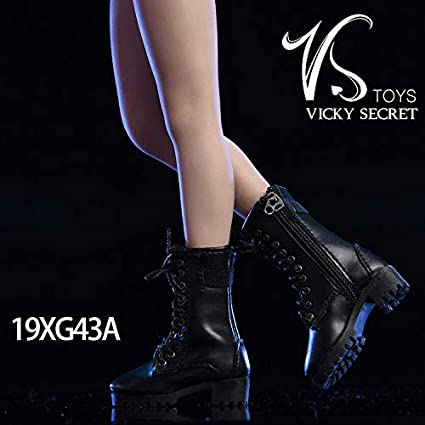 Vicky Secret Female Black Heel Shoes TBLeague 1//6 Scale Phicen