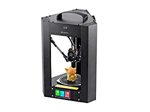 Monoprice Mini Delta 3D Printer Fully Assembled with Heated Build Plate and Auto Calibration for ABS PLA w/Micro SD by Monoprice