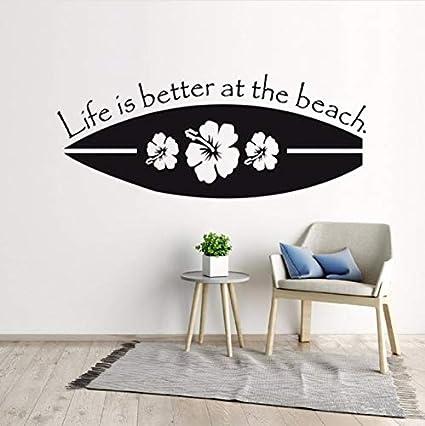 Fushoulu 57X23 Cm Nuevo Diseño De La Tabla De Surf Etiqueta De La Pared Deporte Surf