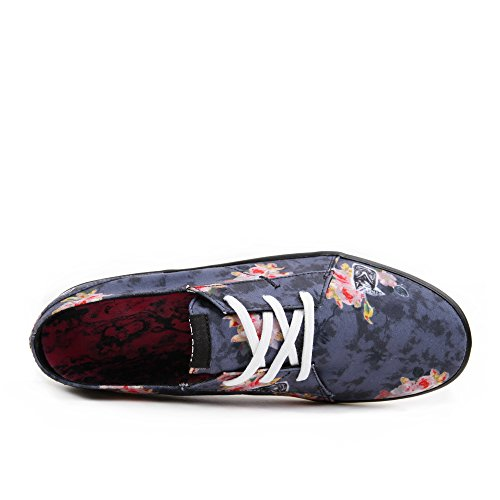Volcom Lo Fi Shoe Angled Bleach Wash 42.5