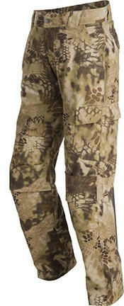 Krypek Men's Tactical Stalker Pants with Side Pocket, Highlander, X-Small