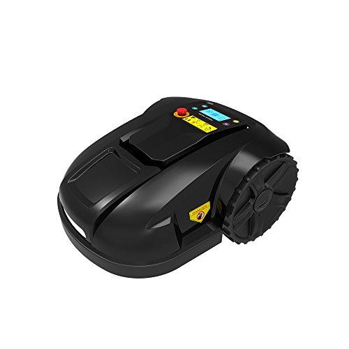 Ancaixin Black Automower Robotic Lawn Mower Wireless Cordless Electric for Garden by Ancaixin