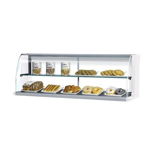 TOMD30H 28 Non Refrigerated Top Case for Open Display Merchandiser: Slim Line White