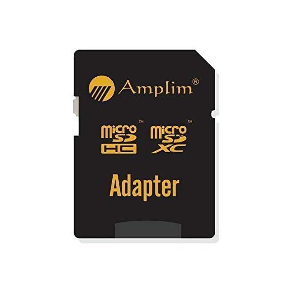 Amplim 256GB 128GB 64GB 16GB Micro SD SDXC V30 V10 U3 A1 Memory Card Plus Adapter Pack (Class 10 UHS-I MicroSD XC Extreme Pro) 64 GB Ultra High Speed 667X 100MB/s UHS-1 TF MicroSDXC 4K Video 5 CELL PHONE/TABLET COMPATIBILITY: Samsung Galaxy J2 Tab A Note8 Note 8 S8 S9 Plus S8+ Active S7 S5 S6 J7 V Max edge J5 J3 Emerge Perx E5 Prime Z4 Amp Express 2 Xcover 4 Tab S3 S2 E A Book 8.0 S2 9.7 View C7 C9 Pro A7 A5 A3 Eclipse Note5 On5 Amp 2 Halo; LG V30 V30+ V20 V10 X charge Q8 Q6 G6 G6+ G5 G4 X K8V venture Stylo 2 3 Power Harmony K20 V Fortune Phoenix 3 G Pad X II F2; Amazon Kindle Fire HD, Microsoft Surface Pro 3 4; ASUS ZenFone V Live 4 Selfie Pro 3S 10 LTE Live AR 3 Zoom ZenPad Z10 Z8 Sony Xperia XZ Premium XA1 XZ1 Compact L1 XZS XCompact XA Z5 M5; HTC One U11 life Desire 555 U Play 530 625 10 A9; Motorola Moto X4 G5S Z Z2 Force Edition E4 Play G5 G4 Bolt Droid tab MAXX 2 TURBO 2; Huawei Honor 9 7X 6C 8 Pro View 10 V10 Mate 10 Lite Y6 Pro P8 P9 Lite P10 mini nova 2 Plus6A nova 2 Y7; OPPO F5 R11 F3; Xiaomi Redmi Y1 Lite Mi A1 Max 2 5 Note 4X; ZTE Blade X Force Vantage XL V8 Axon M Blade Zpad Nokia 2 8 3 5 6; Nintendo 2DS 3DS Alcatel IDOL 4 5 LED A7 A30 Tablet Fierce U5 HD Idol 5S A30 Plus A50 Pulsemix; BlackBerry KEYone PRIV; BLU Life One X2 Mini R1 Plus Tank Xtreme Dash L3 Vivo XL2; Razer Phone; nubia N2 N1 Lite;; ARCHOS 50 55 Graphite; FiGO Gravity; DuraForce PRO; Ellipsis 8 HD Gizmo Tab; Lumia 735 640 650 950 XL; AT&T Trek 2 HD G Pad X 8.3 8.0 F II 10.1 Lancet 626 626S; LG Exalt LTE Aristo K3 Fortune; Elipsis 10; ZTE Avid TRIO Overture Tempo X Prestige 2; Alcatel TRU FIERCE 4 ONETOUCH IDOL Revvl Plus