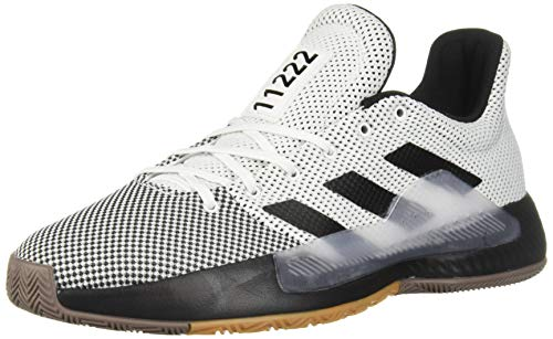 - adidas Men's Pro Bounce Madness Low 2019, Black/White, 10.5 M US