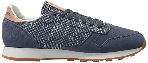 Reebok Mens Cl Leather Ebk Sneaker Smoky Indigo / Cloud Grey / C