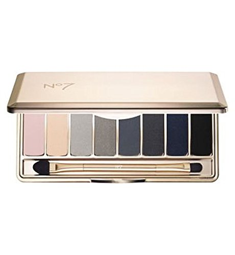 No7 80Th Anniversary Smokey Eye Shadow Palette 8G - Pack of 2 by No. 7