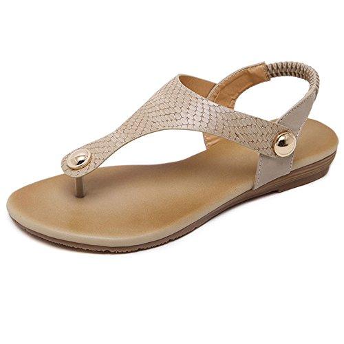 XIAOLIN シンプルで快適なフラットボトム女性の足のサンダルカジュアル快適な学生の靴ビーチシューズ(オプションのサイズ) (色 : ブラック, サイズ さいず : EU39/UK6.5/CN40)