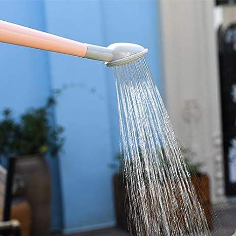 herramienta de jardiner/ía regar regar reutilizable Regadera para regar la regadera de boca larga de pl/ástico para regar las plantas verdes