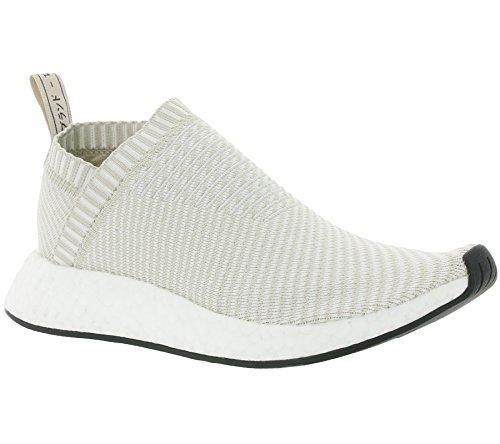 Adidas - Nmdcs2 Primeknit Donna Grigio Perla - Ba7213 - Colore: Beige - Dimensioni: 8.5