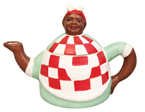 Aunt Jemima Collection, Hand-Painted Ceramic Teacpot, 89917