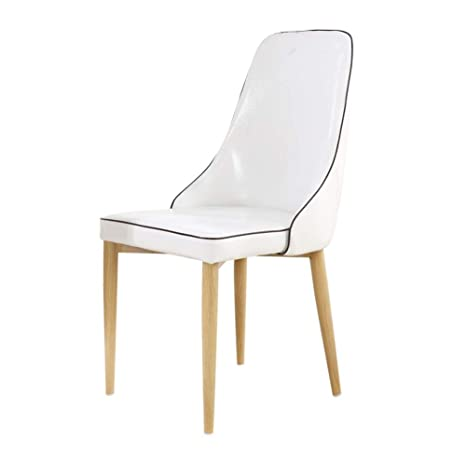 Prime Amazon Com Solid Wood Imitation Leather Dining Chair Beatyapartments Chair Design Images Beatyapartmentscom