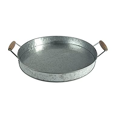 Artland Oasis Party Tray, Galvanized, Metal