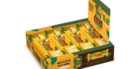 Jana Banana Bar with Green Bananas (Pack of 12)