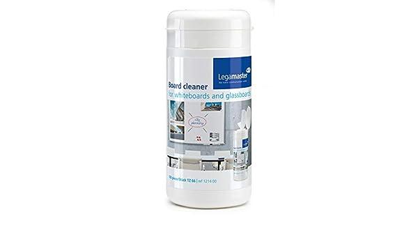 Legamaster 7-121400 - Pack de 100 toallitas de limpieza desechables: Amazon.es: Oficina y papelería