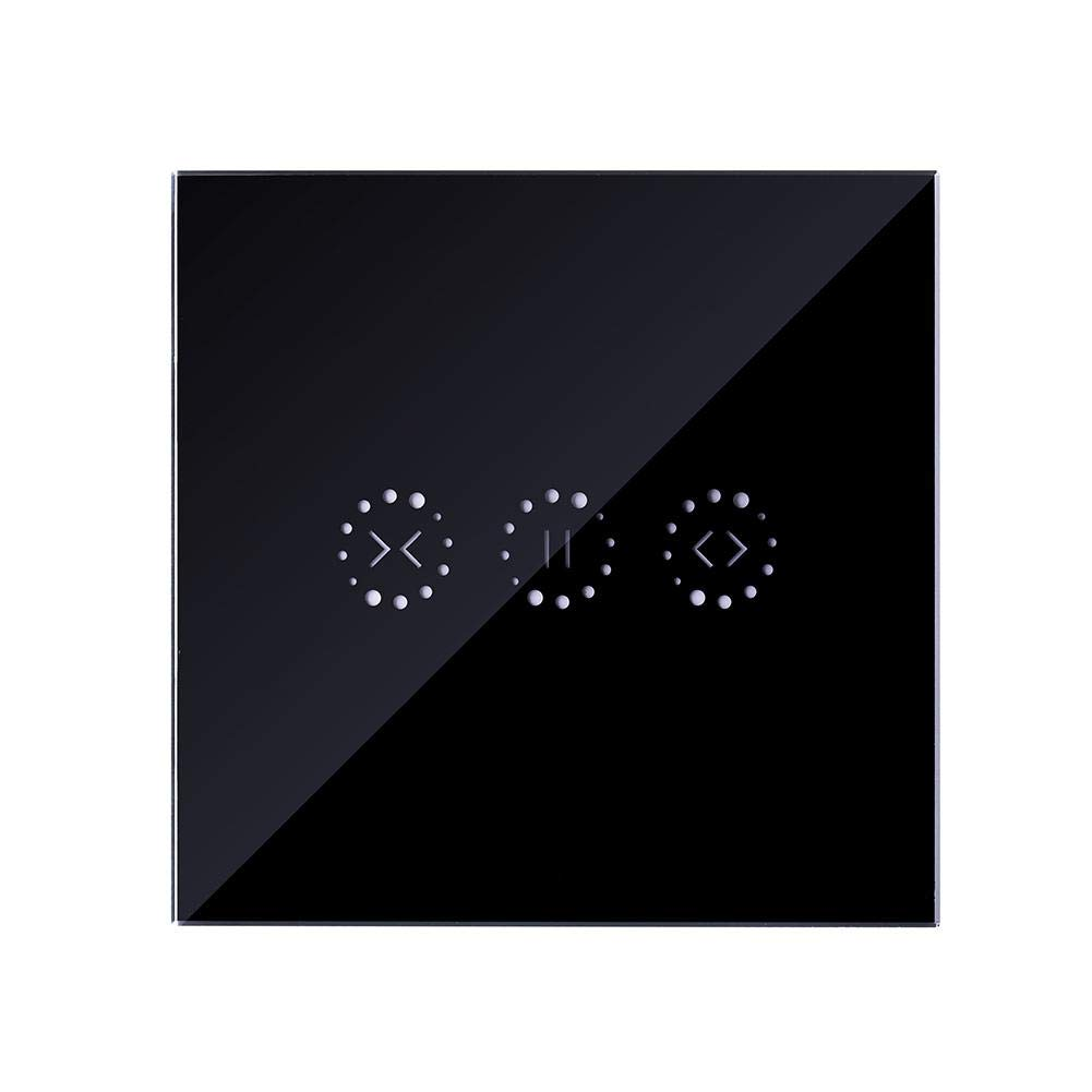 feiledi Trade Smart Curtain Roller Switch Inalá mbrico WiFi Persianas elé ctricas Interruptor de Control tá ctil Interruptor de Pared con Temporizador Alexa Google Home Support