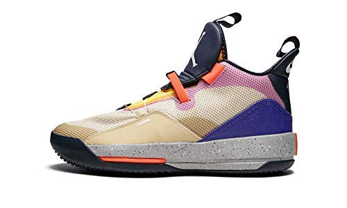 Nike Air Jordan Xxxii Mens Hi Top Basketball Trainers Aq8830 Sneakers Shoes (UK 10 US 11 EU 45, Desert ore White Black 200)