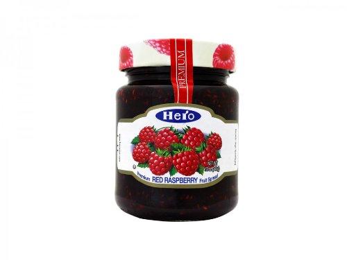 Hero Premium Fruit Spread, Raspberry, 12 Ounce
