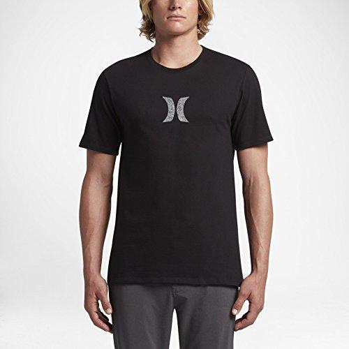 5f195c3b63 Hurley - Men's Icon Push Through T-Shirt, Size: Small, Color: Black