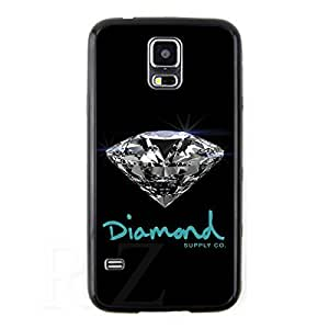 diamond supply co HD Phone Case for Samsung Galaxy S5 Case (Black)