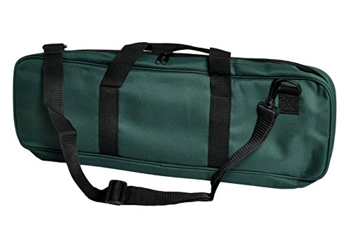 Deluxe Chess Bag - Forest Green - by US Chess ()
