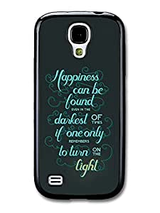 Happiness Can Be Found Harry Potter Light Quote case for Samsung Galaxy S4 mini by mcsharks