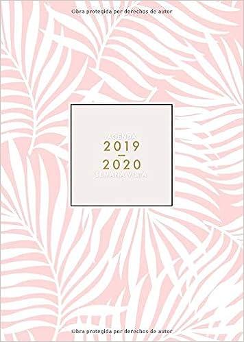 Agenda 2019-2020 Semana Vista: Agenda 2019/20 18 meses ...