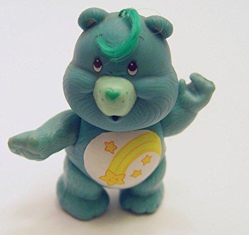 Vintage Care Bears Wish Bear Poseable PVC Figure 1980s (Care Bears Figurines)