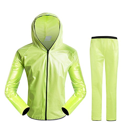 Cutogain donna uomo ciclismo impermeabile giacca impermeabile bicicletta strada MTB TPU Rain Coats bici abbigliamento