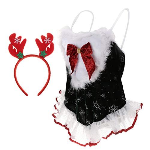 Santa Femme No MagiDeal de Costume Sexy de l Lingerie Mre Ensemble pour f8aqHxwT
