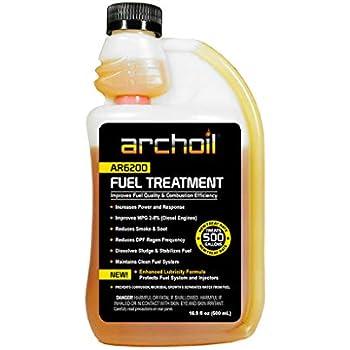 Archoil AR6200 (16 oz) Fuel Treatment - Treats 500 Gallons - Diesel Additive/Fuel Additive