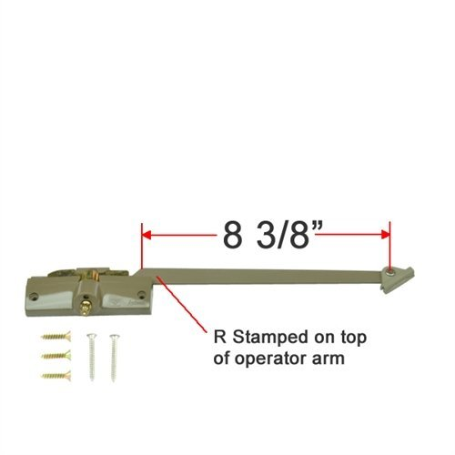 (Andersen® Straight Arm Operator (Right Hand) with 8-3/8