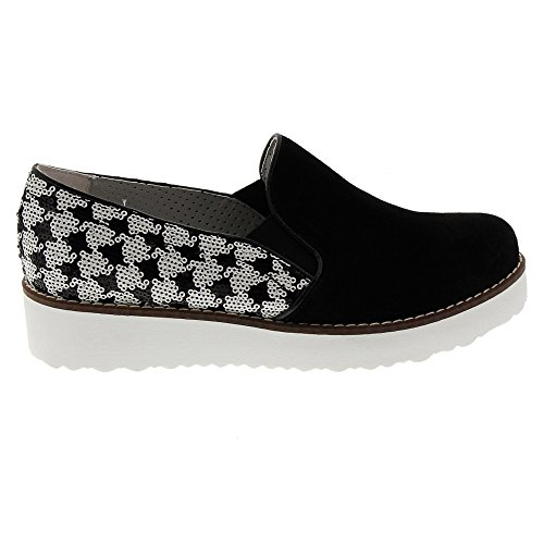 Marc Shoes Women's Romy Loafers Black (Black-combi 00257) TqnP2CQS