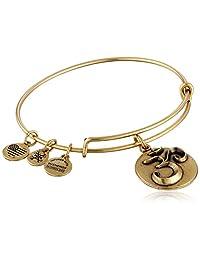 Alex and Ani Om III Expandable Rafaelian Bangle Bracelet
