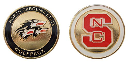 North Carolina State University Wolfpack Challenge Coin by Coin and Coins