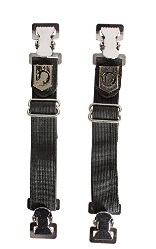 Billys Biker Gear POW/MIA Motorcycle Boot Pant Alligator Clips by Billys Biker Gear