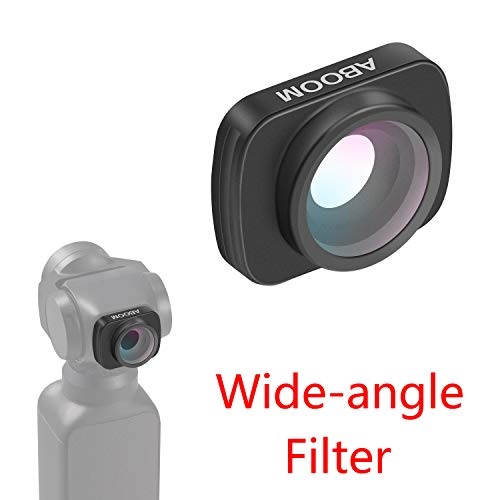 Aboom 0.6X HD Wide Angle Lens for Osmo Pocket Accessories Expand The Field of View Vlog and YouTube Studio Photography