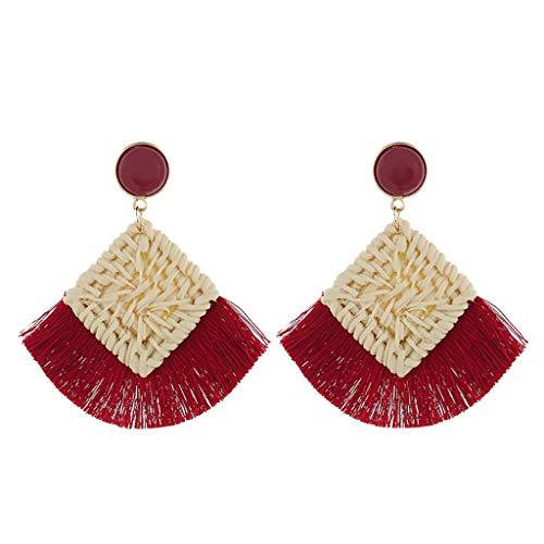 Earrings for Women,Mebamook FasFashion Shell Earrings Pendant Ladies Earrings Simple Paragraph Beach Wind