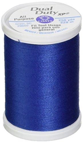 (Coats: Thread & Zippers S910-4470 Dual Duty XP General Purpose Thread, 250-Yard, Yale Blue)