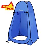 WolfWise Pop-up Shower Tent (Blue)