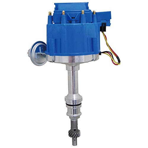 New HEI Distributor Fits Ford V8 SBF 302 5.0 1986-1994 EFI For Carbed Conversions Long Shaft 1.5 Inch From Gear to Shaft End