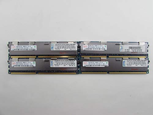 IBM 49Y1445 16GB 4 x 4GB PC3-10600R DDR3 1333 ECC REG Server Memory Kit Hynix (Certified Refurbished) ()