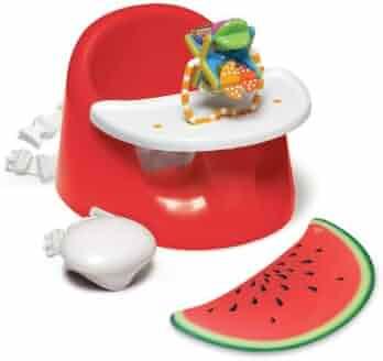Prince Lionheart bebePOD Flex Plus Baby Seat, Watermelon Red